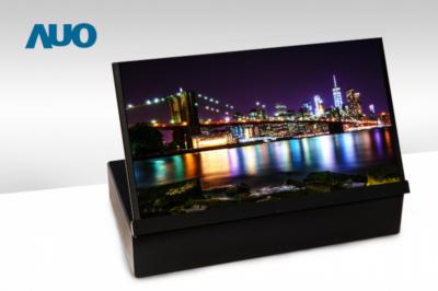 AUO inkjet printed 17.3'' 4K OLED display prototype photo