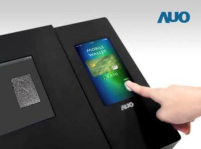 AUO 6'' LCD with full-screen optical fingerprint sensor photo
