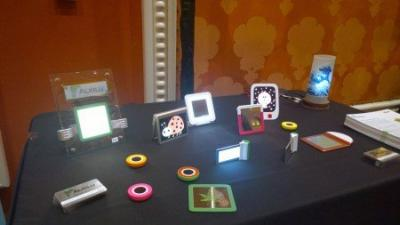Alkilu OLED products at CES 2014 photo