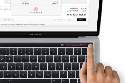 Apple pay leaked magic toolbar photo