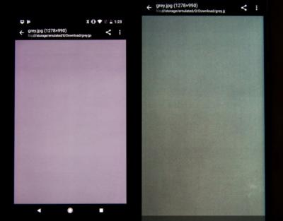Google Pixel 2 vs Pixel 2 XL display comparison (Ars Technica)