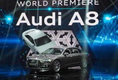 Audi A8 World Premier photo