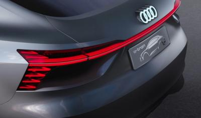Audi Sportback Concept Car Oled Taillight Photo