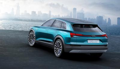 Audi e-tron Quattro concept rear photo
