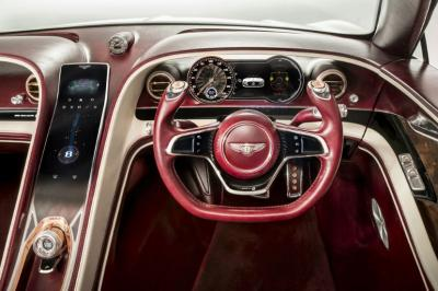 Bentley EXP 12 Speed 6e concept interior photo