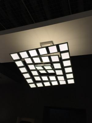 Bopp Leuchten OLED ceiling light at L+B 2016
