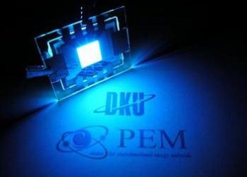DKU CPEM 30% blue OLED photo