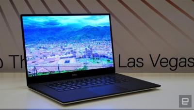 Dell 2019 XPS 15 laptop (Engadget photo)