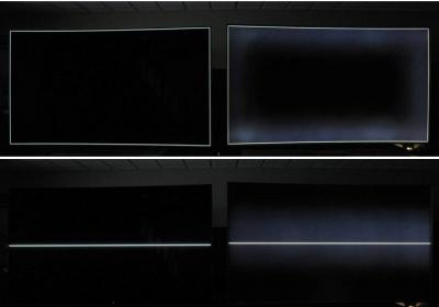 DisplayMate OLED TV vs LCD TV (black levels, Sep 2015)