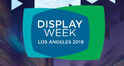 DisplayWeek 2018 banner