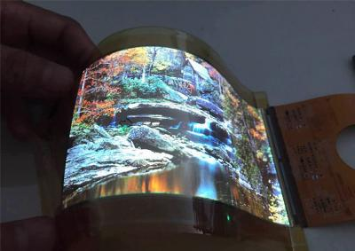 Everdisplay 5.6'' WQHD flexible AMOLED prototype photo (September 2015)