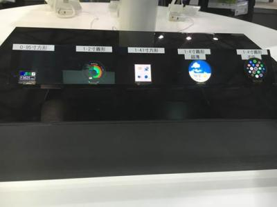 Everdisplay AMOLED lineup (CES Asia 2016)