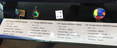 EDO AMOLED lineup spec (July 2016)