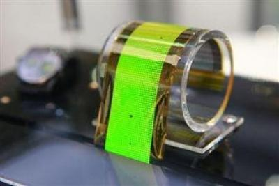 Flexible OLED lighting prototype (ITRI, 2016)
