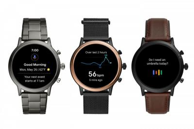 Fossil Gen-5 smartwatch lineup photo