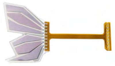 Fraunhofer Project Monarch OLED butterfly wing design
