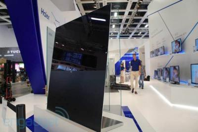 Haier 55'' OLED TV prototype photo