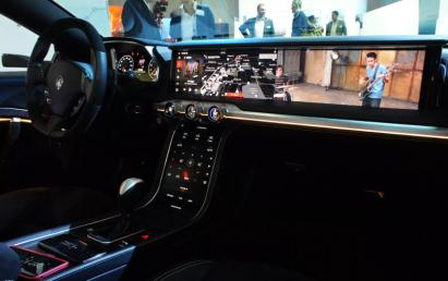 Harman OLED/QLED automotive concept (CES-2018, 1)