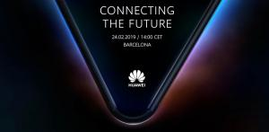 Huawei foldable device teaser image
