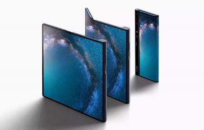 Huawei Mate X folding photo