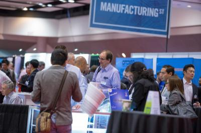IDTechEx Printed Electronics USA exhibition image