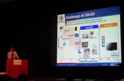 JOLED applications slide (AMFPD2018)