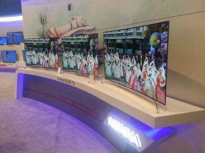 Konka 65-inch 65X90PU demonstrated at CES 2015