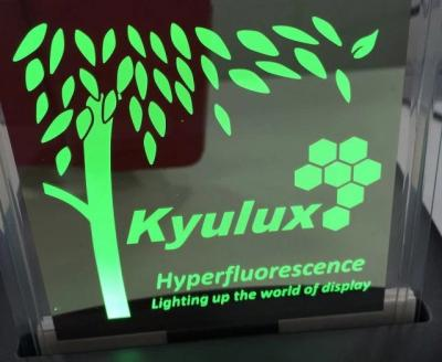 Kyulux TADF OLED demonstrator Feb 2016