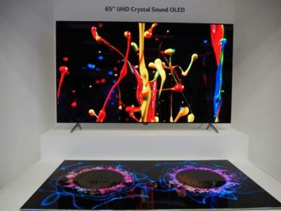 LGD Crystal Sound OLED photo