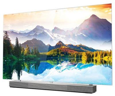 LG EF9500 flat OLED TV photo