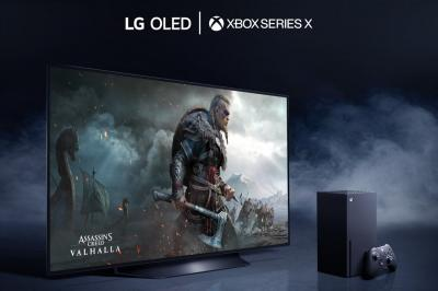 LG and Microsoft, OLED and Xbox Series X photo