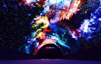 LG OLED ''Tunnel'' at IFA 2016