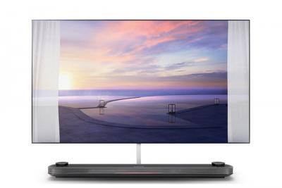 Lg Starts Shipping Its Flagship 77 Wallpaper Oledw8 Tv In