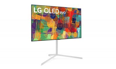 LG OLED evo TV with stand