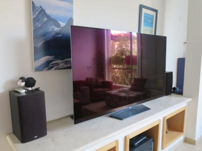 LG 65'' OLEDB6 review (reflectance)