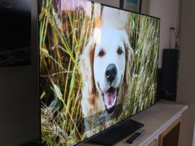 LG 65'' OLEDB6 review (side)