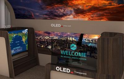 LGD aerospace OLED demonstrator CES 2020