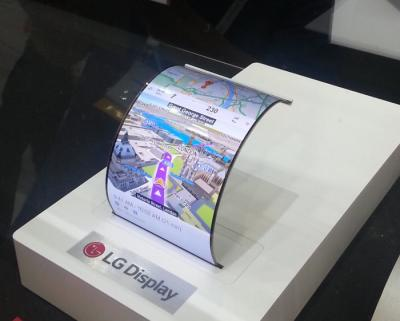 LG Display 5.5'' flexible AMOLED panel (SID 2015)