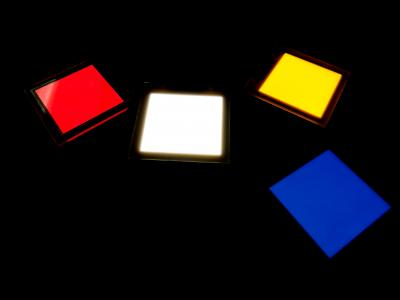 Lumtec colored OLED lighting panels (June 2019)