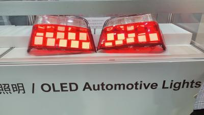 LumTec automotive OLED lighting at Taipei AMPA 2019