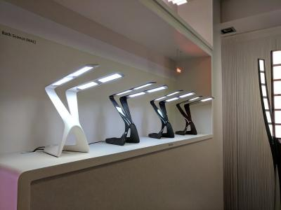 Novaled OLED showroom liternity lamps photo
