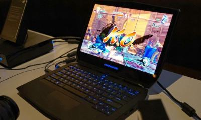 OLED Alienware 13 photo