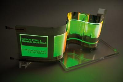 OLED on stainless steel prototype (Fraunhofer, NSMAT, NSSMC)