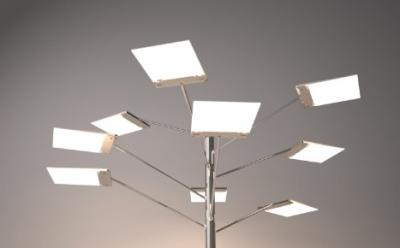 Planar LED lamp design