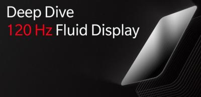 OnePlus 120Hz Fluid AMOLED display promo