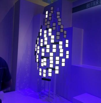 Panasonic also had a nice OLED lighting  tree  made from Panasonic Idemitsu OLED Lighting (PIOL) ELeaf panels. PIOL is a joint-venture between Panasonic ... & Panasonic shows OLED TV and lighting prototypes at IFA 2013   OLED ... azcodes.com