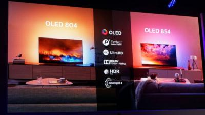 Philips OLED TV 804 and  854 announcement (2019, TechRadar)