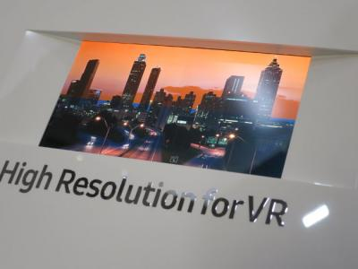 SDC 806 PPI VR OLED at SID 2016