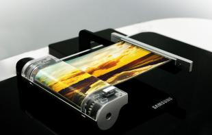 SDC 5.7'' FHD rollable OLED at SID 2016