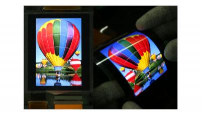 SEL 8'' flexible OLED with OPD, SID DW 2020